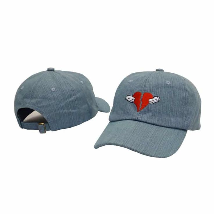 Leisure Heart Break Embroidery Dad Hat  & FREE Shipping Worldwide //$15.82    #instaiphone #iphoneographers