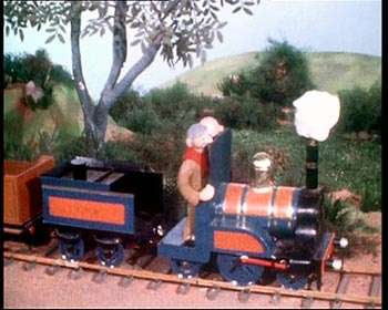 Chigley, my favourite of the three Trumpton series. Liked the train.