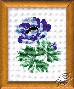 Anemone - Cross Stitch Kits by RIOLIS - 640