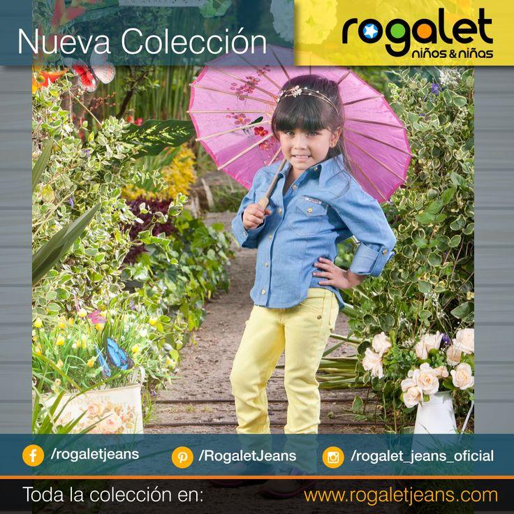 Que la lluvia no sea excusa ... Emoticono grin  *Ventas al por mayor y al detal* Los esperamos  #Niños #niñas #Camisa #Azul # Pantalon #Amarillo