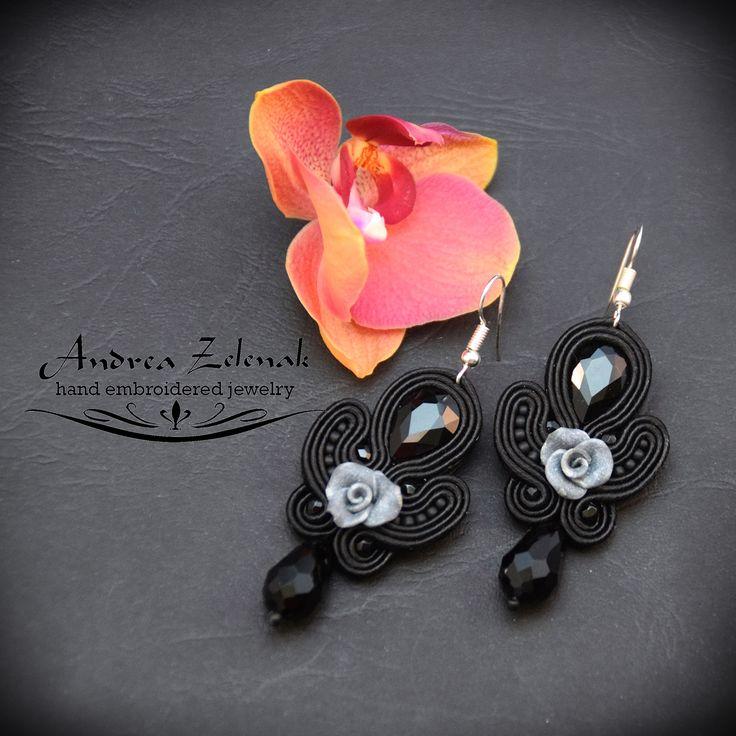 Soutache earrings S0280