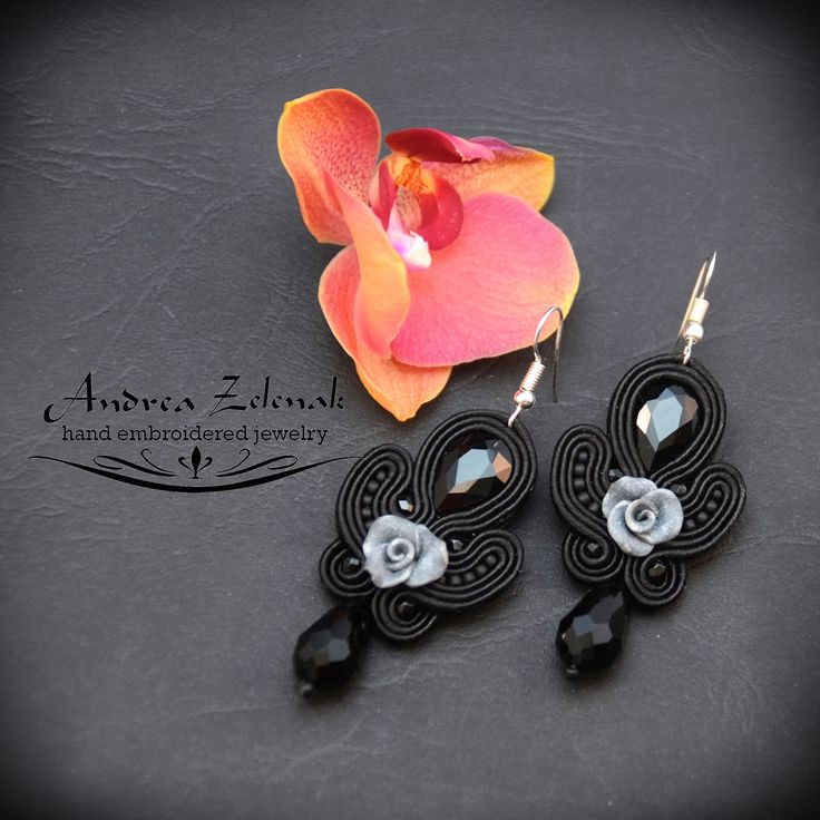 Soutache earrings S0280