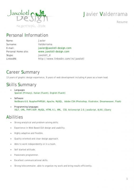 Android Developer Resume Resume Format Resume Software Resume Words