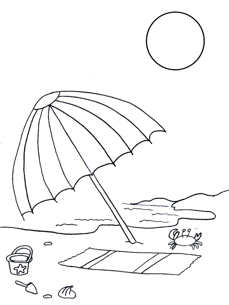 243 Free Summer Coloring Pages the Kids Will Love: Free Summer ...