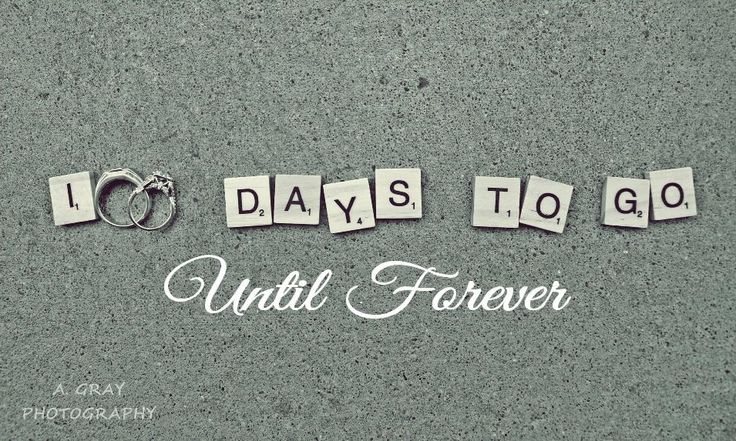 100 Days till Wedding countdown sign banner. 100 days to