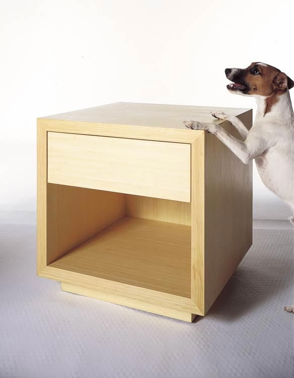 John Kelly Furniture - Tau Night Table #2Modern
