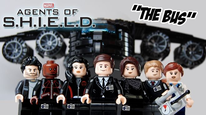 "LEGO Ideas - Marvel's Agents of S.H.I.E.L.D. ""The Bus"" LEGO Set  This needs to happen"