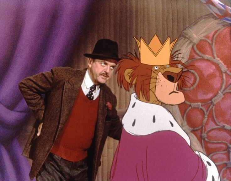 """David Tomlinson in """"Bedknobs and Broomsticks"""" (1971)"""