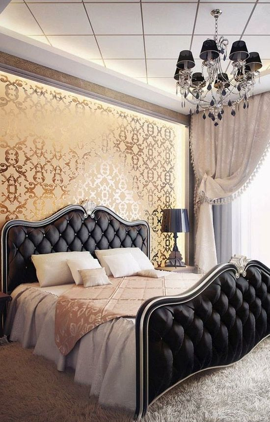 Black And Gold Bedroom Design Bedroom Designs Pinterest Master Bedrooms Home And Photos