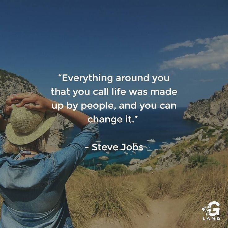 Everything? _ #stevejobs #nature #change #quote