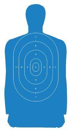 Law Enforcement Targets B-27S Standard Silhouette Target 24x45 Inch Blue 100 Per by Law Enforcement Targets. Law Enforcement Targets B-27S Standard Silhouette Target 24x45 Inch Blue 100 Per.