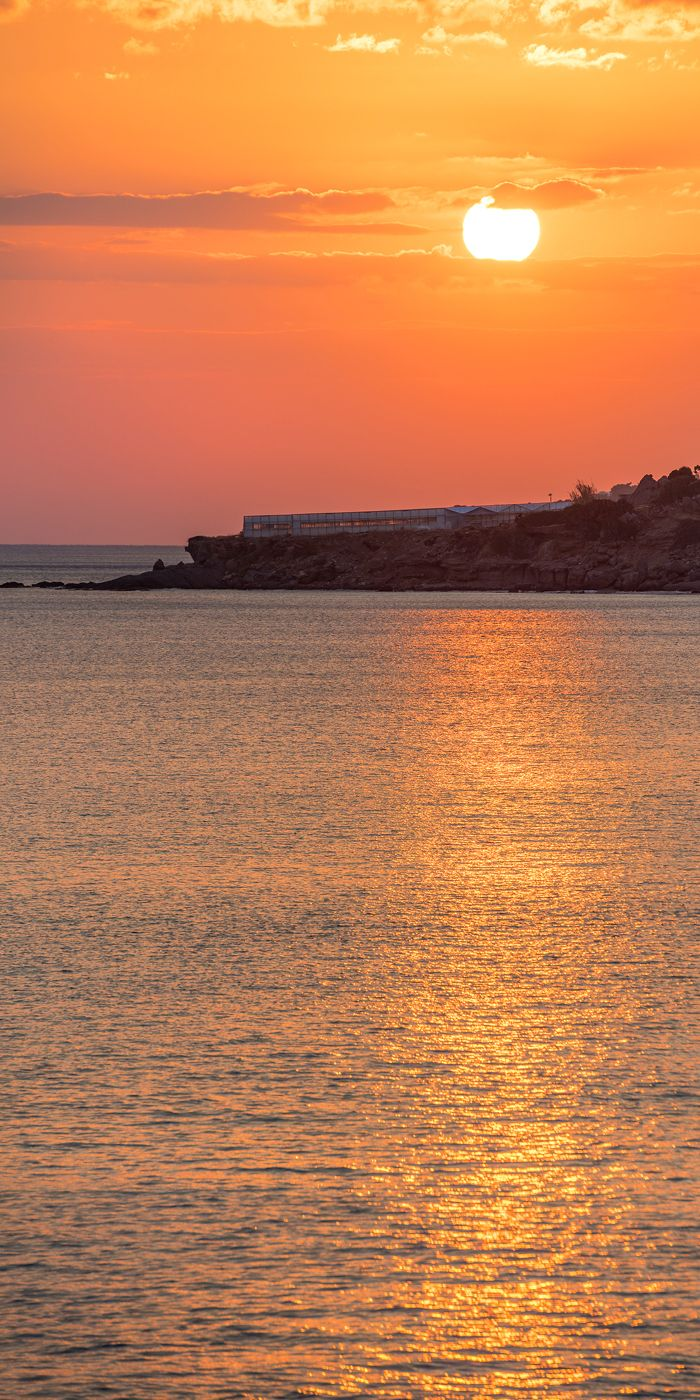 Sunset from Ierapetra, South Crete