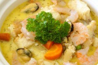 Soupe aux fruits de mers #recettesduqc #soupe #repas