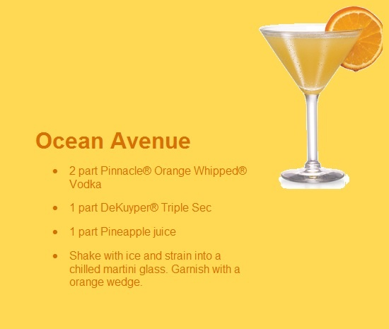Ocean Avenue Pinnacle Vodka Drink - I don't drink pre-flavored vodka (unless I have infused it myself) but I bet this would be really good with plain old vodka!