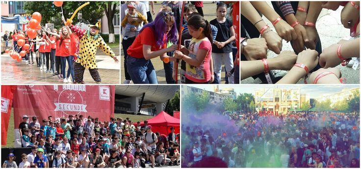 România a devenit cel mai mare loc de joacă în aer liber, la Bucurie în Mişcare
