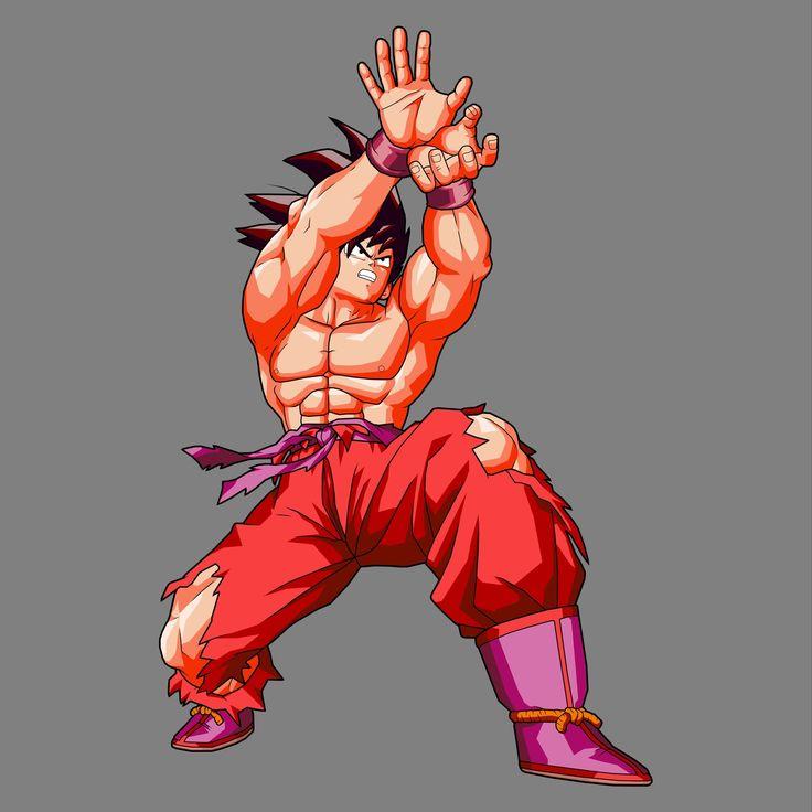 images of goku | Goku Kaioken BL Artwork Edit by ~drozdoo on deviantART