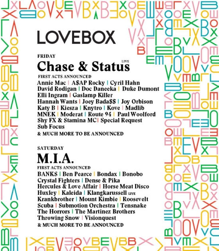 Lovebox 2014 Tickets | Victoria Park, London