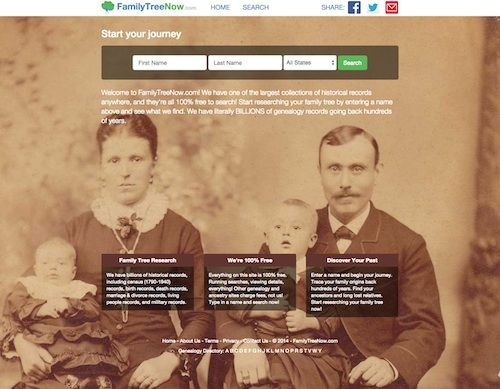 "A new genealogy site has appeared within the past few days at FamilyTreeNow.com. It is billed as being completely free for everything. The site is in beta and claims to have ""billions of historical..."
