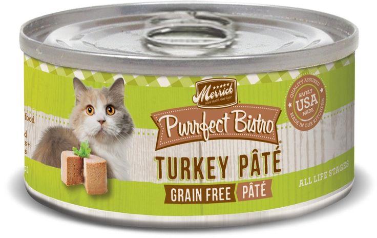 Merrick Purrfect Bistro Turkey Pte - 24x5.5oz >> For more information, visit now : Best Cat Food