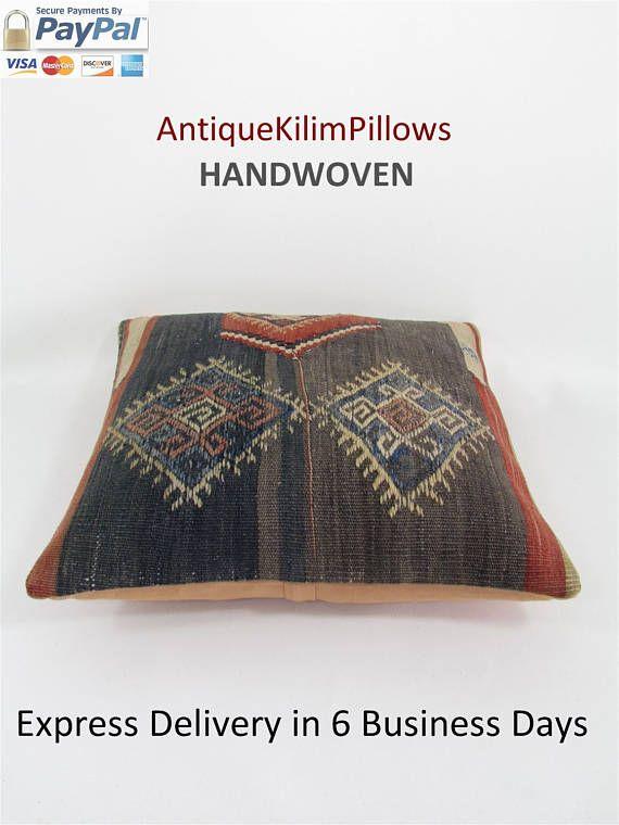 kilim rug pillow decorative pillows boho couch pillow cover throw pillow  bedding pillow bedroom deco 2dcbfbfedd