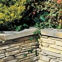 Bradstone Madoc Walling Weathered Cotswold coping stones 470L x 130W x 45H 60 Per Pack