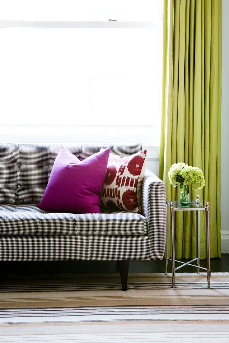 1000 ideas about lime green curtains on pinterest green - Lime green curtains for living room ...
