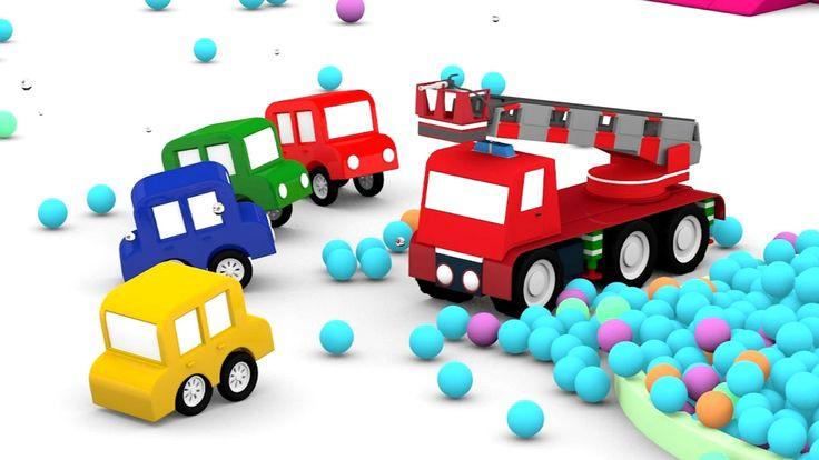 Costruiamo un camion dei pompieri insieme alle macchinine colorate - cartoni animati per bambini Ci serve un nuovo veicolo nel parco giochi, un camion dei pompieri! così saremo ancora più bravi a spegnere gli incendi! La serie animata per bambini delle macchinine colorate cresce con un nuovo bel #cartonianimati #bambini #macchinine