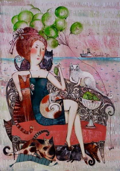 Anna Silivonchik - Gatera