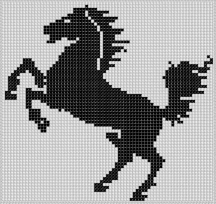 Horse 4 Cross Stitch Pattern