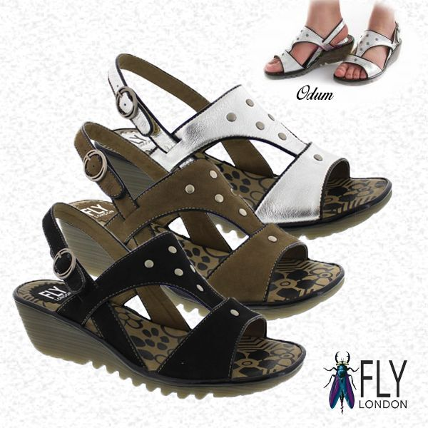 How can you look stylish and comfortable... Hmmm.... Fly London Odum may be the choice, what do you think?!