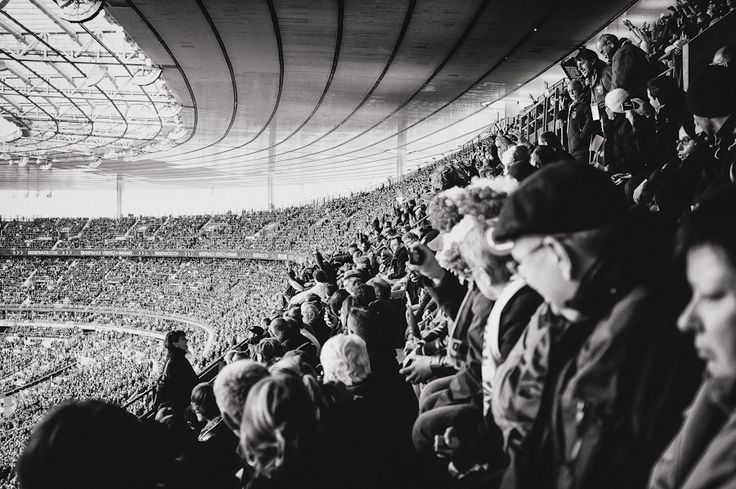France v England at the Stade de France during the Six Nations (11/03/12).