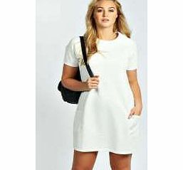 boohoo Madison Textured Shift Dress - cream pzz99722 This raglan sleeve shift dress is a sporty take on the seasonless 60s style. Dress it down with monochrome trainers , add colour with a neon clutch and layer up in a quilted bomber jacket . http://www.comparestoreprices.co.uk/dresses/boohoo-madison-textured-shift-dress--cream-pzz99722.asp