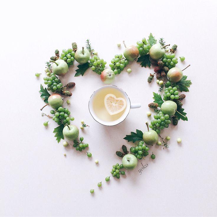 July.5.2017 ・ ・ ・ Happy Wednesday my dear friends☺️ ・ Tea time with loveliest heart shaped lemon from @nilufer_tea ☕️✨ ・ ・ ・ 素敵な水曜日をお過ごしください☺️ 今日はグリーンの実もので 爽やかスタイリング〜〜 さっぱりと @nilufer_tea さんの ハート型のレモンを浮かべて ティータイム☕️ ・ ・ ・ ・ ・ ・ #coffeeandseasons #tv_stilllife #still_life_gallery #tv_living #tv_lifestyle #transfer_visions #rsa_vsco #tv_fadingbeauty #inspiredbypetals #momentsofmine #petalsandprops #stilllifeisreallife #naughtyteas #foreverfaffing #ccseasonal #global_ladies #l...
