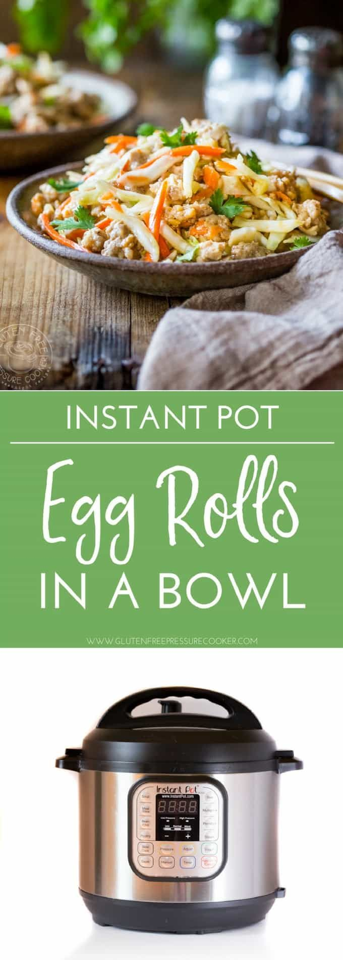 384 best instant pot images on pinterest instant pot pressure instant pot egg rolls in a bowl its gluten free an can be made paleo cookbook recipesmeat recipescooking recipesdinner forumfinder Gallery