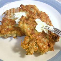 Boxty irlandais - Le Boxty est un plat traditionnel irlandais, c'est une sorte de galette de pommes de terre.