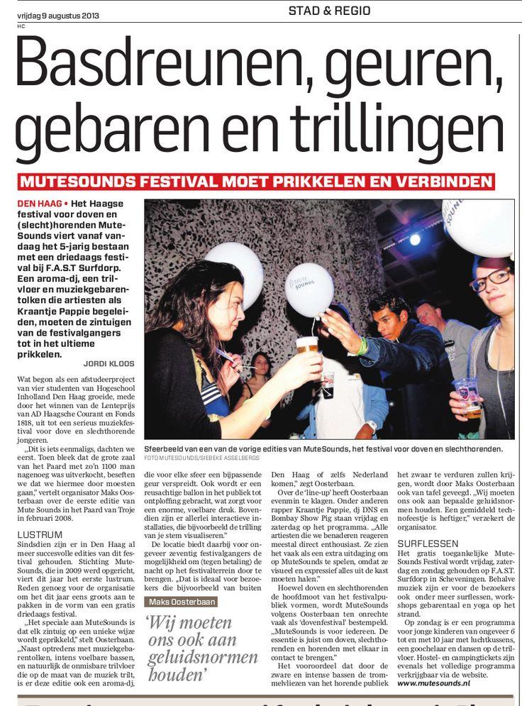 Algemeen Dagblad - augustus 2013