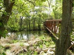 Nature trails at Brushy Creek Park Cedar Park Texas