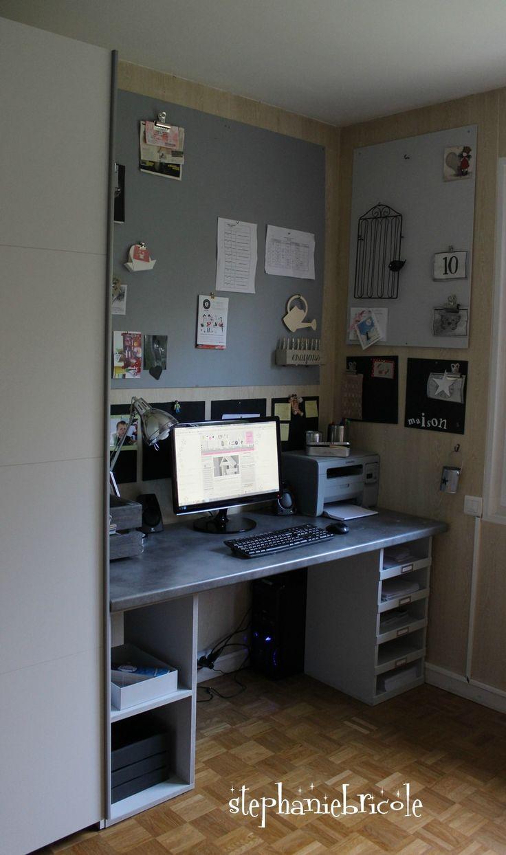 1000 ideas about fabriquer un bureau on pinterest faire le lit lit d appo - Fabriquer son bureau sur mesure ...