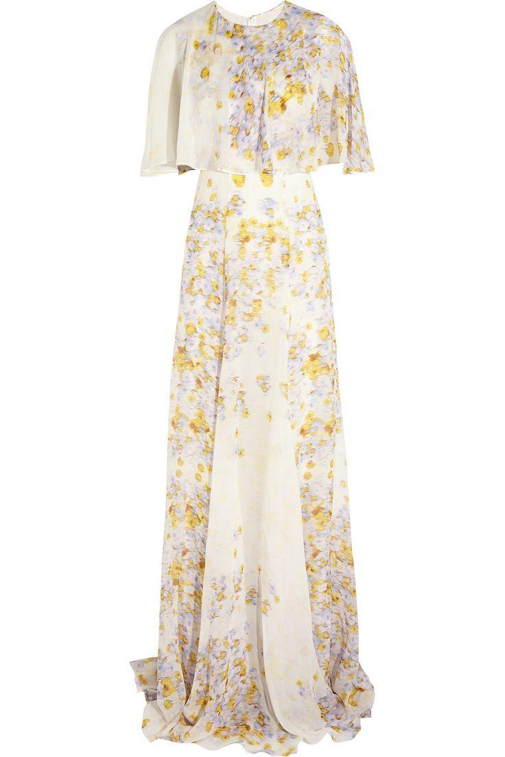 GIAMBATTISTA VALLI Floral-print silk-chiffon gown $1,986 http://www.theoutnet.com/products/511745
