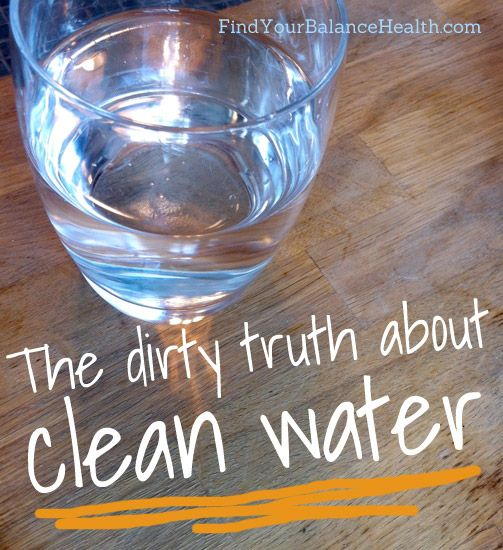 The dirty truth about clean water (and a giveaway of my favorite water filter!)   Find Your Balance with Michelle Pfennighaus