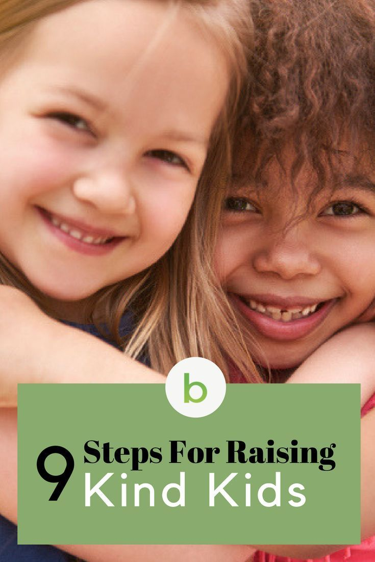 9 Step by Step For Raising Kind Kids.  Do you know that most young children are naturally inclined to be both cruel and kind? Kindness isn't something we're born with, it's something we're taught. Read more to learn all the 9 steps. #beenke #kindness | includes helpful books and reading ideas.