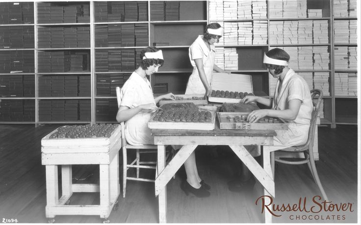 an introduction to the history of the russell stover box Company history: godiva chocolatier, inc, is a leading manufacturer of premium-quality chocolates, cookies, ice cream, cocoa, and flavored coffees  the candy was .