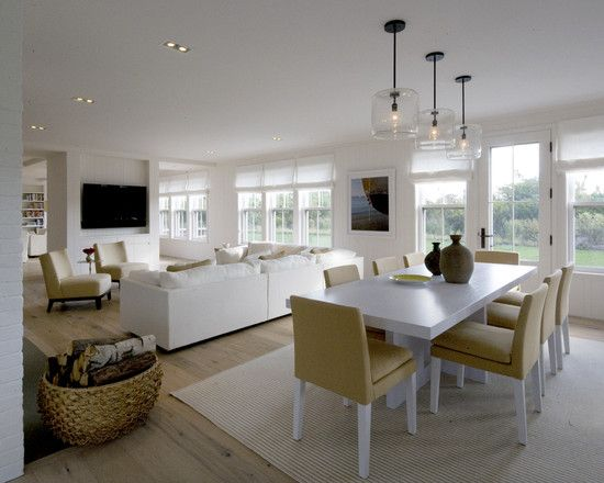 Dining room small open plan kitchen living room design for Living room or dining room