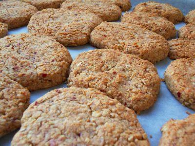 Estas galletas llegaron en su paquetito desde Göteborg (Suecia) cortesía de Ainara, Nora, Leticia y Buli. En el paquete venía la receta en c...