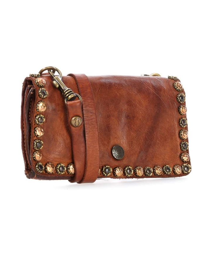 Campomaggi Borchie Con Fiore Clutch Bag CP0086VL-1702-CP0086VL-1702-01 Preview