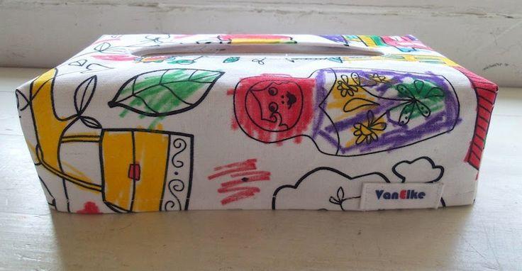 Bloem: Zelf maken # Hoes voor een tissuedoos