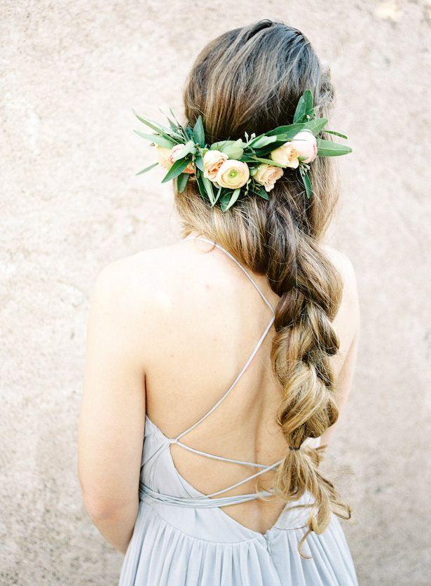This bohemian braid is gorgeous!