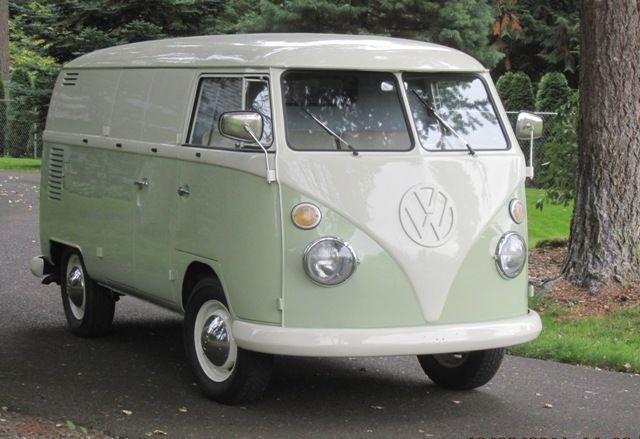 1963 VW Panel Van Transporter For Sale @ Oldbug.com