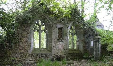 ruines de Keravel en Plouha