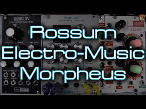 Rossum Electro-Music - Morpheus - YouTube